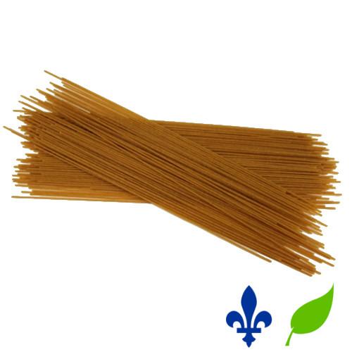 spaghetti blé entier bio qc