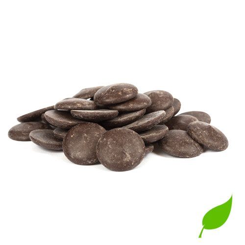pastilles chocolat noir