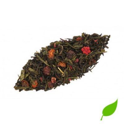 thé vert framboise grenade