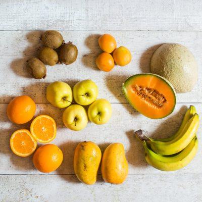 panier de fruits internationaux - 1-2 personnes