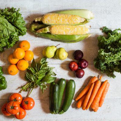 panier de fruits et légumes internationaux 4 personnes