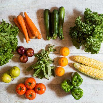 panier de fruits et légumes internationaux 2 personnes