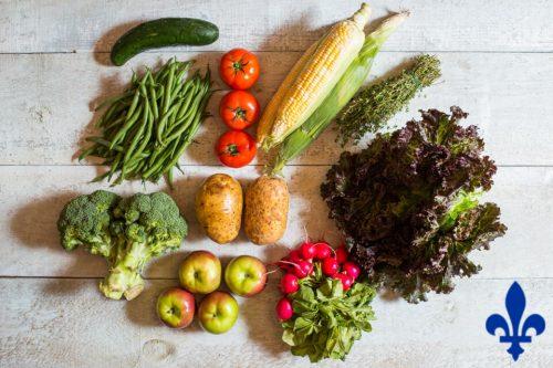 Panier de fruits et légumes Locaux - 2 personnes