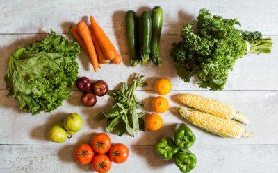 Seconde vie – panier de fruits et légumes moches