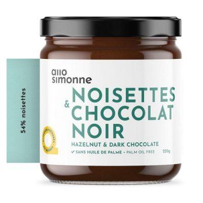 tartinade noisette et chocolat